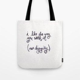 diggity Tote Bag