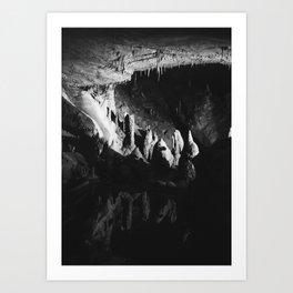 Cavern Creeping Art Print