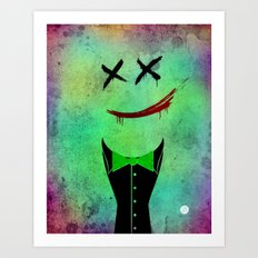Joke's On You! Art Print