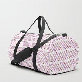 Summer Day Herringbone Duffle Bag