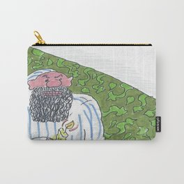 Man In Nightgown Holding Candle Carry-All Pouch