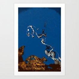 Wizard Island 02 Art Print