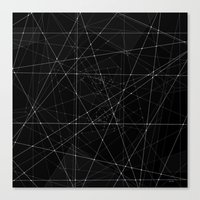constellations Canvas Prints featuring Constellations by Dood_L