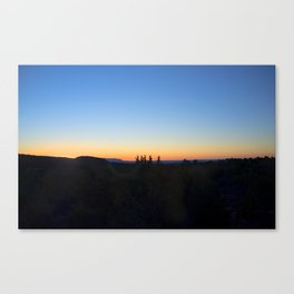 """Sunrise Moon"" Canvas Print"