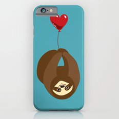 Sloth and Heart Balloon iPhone 6s Slim Case