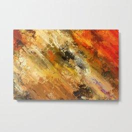 Fire's colors Metal Print