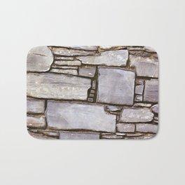 Rock Wall Bath Mat