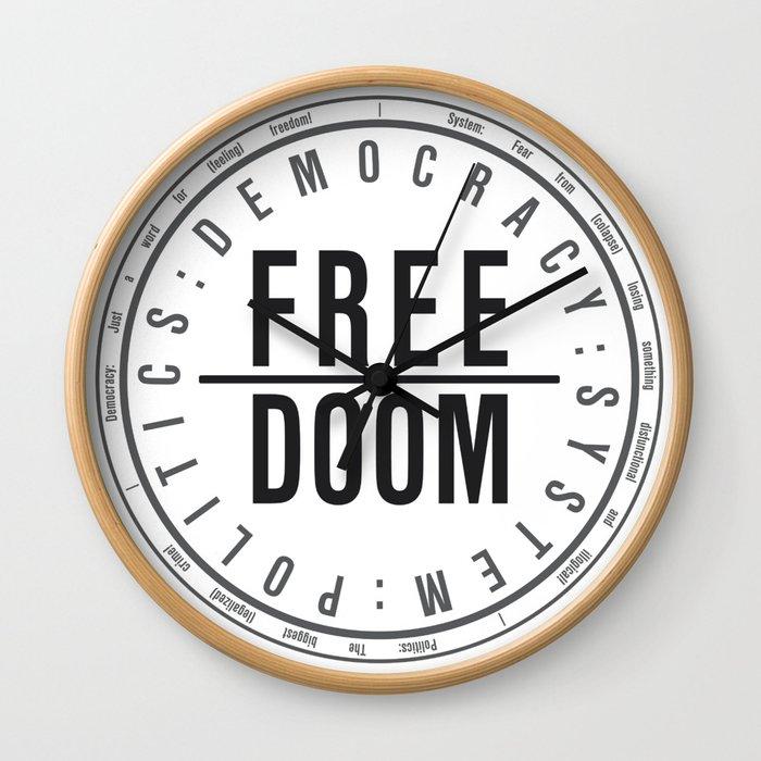 FreeDoom-1 Wall Clock