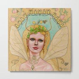 Queen of the Bees Metal Print