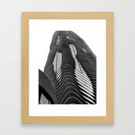Aqua Tower #1 Framed Art Print