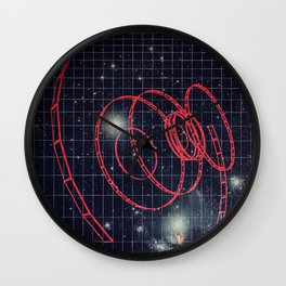 Time-Gate Portal. Quadrant VX659 Wall Clock