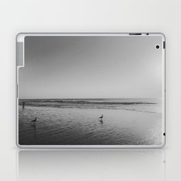 HALF MOON BAY (B+W) Laptop & iPad Skin