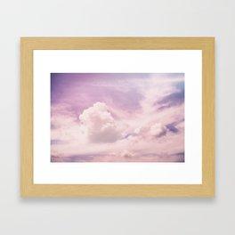 Lavender Sky Framed Art Print