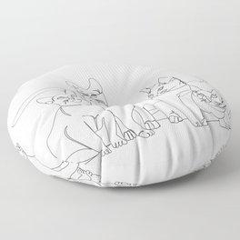 Cats Floor Pillow