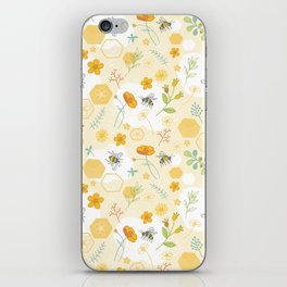 Honey Bees and Buttercups iPhone Skin
