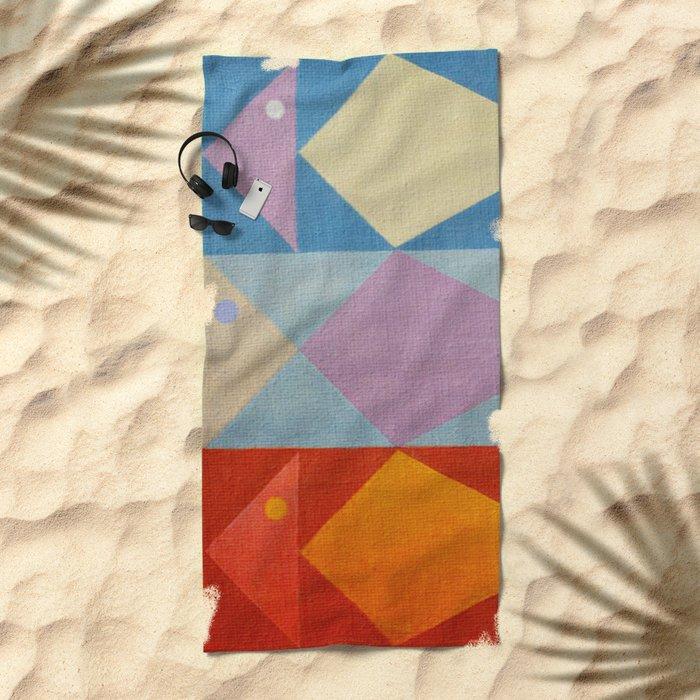 Fish's Control Beach Towel