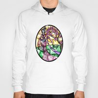 mulan Hoodies featuring Stained Glass Mulan by Callie Clara