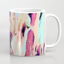 Marbling Sugarcane Peach Coffee Mug