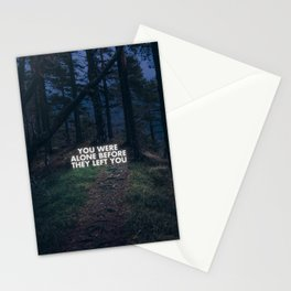 On loneliness. Stationery Cards