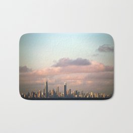 City over Sea Bath Mat