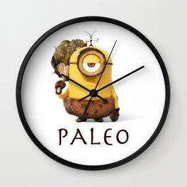 Paleo Minion Wall Clock