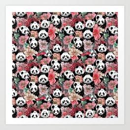 Because Panda Art Print