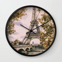 La Tour Eiffel - Paris Wall Clock