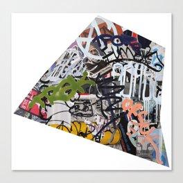 Paris Graffiti: 14th Arrondissement Canvas Print