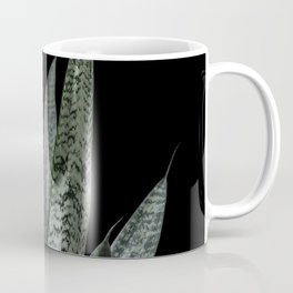 Snake plant with black Coffee Mug