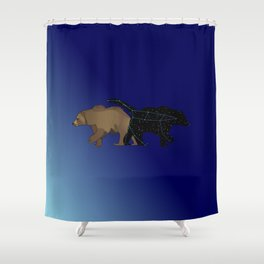 The Great She Bear, Ursa Major Shower Curtain