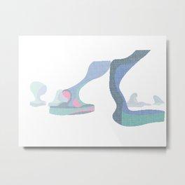 Unstaged 4 Metal Print