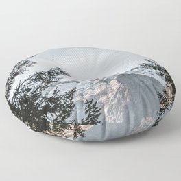Natural Framing | Nature and Landscape Photography Floor Pillow