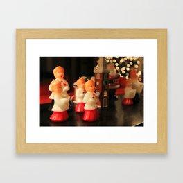 Christmas Choir Framed Art Print