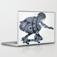 skate Laptop & iPad Skins featuring Skate by mayrarosito