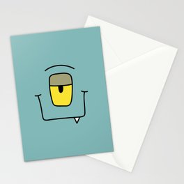 Monster - Kaa Stationery Cards