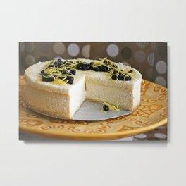 Cheesecake Metal Print