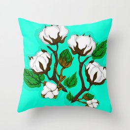 Cotton Pattern I Throw Pillow