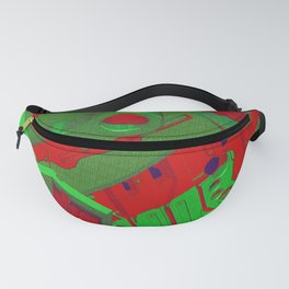 Mechanical 10 Fanny Pack