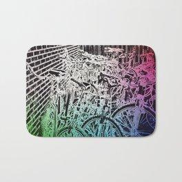 bike yard 1 Bath Mat
