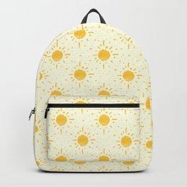 Good Morning Sunshine pattern #handdrawn  Backpack