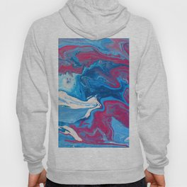 Fluid painting 14. Hoody