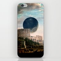 death star iPhone & iPod Skins featuring Death Star by DIVIDUS