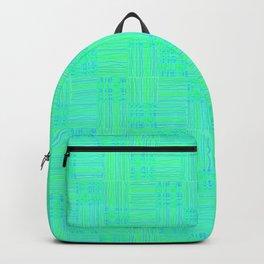 Interpretive Weaving (Lime Cooler) Backpack