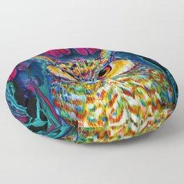 HORNED OWL Floor Pillow