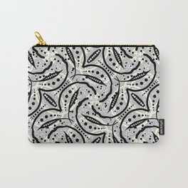 Batik Seeds // ethnic print Carry-All Pouch