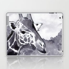 Giraffe I - Animal Series in Ink - Animal Series in Ink Laptop & iPad Skin