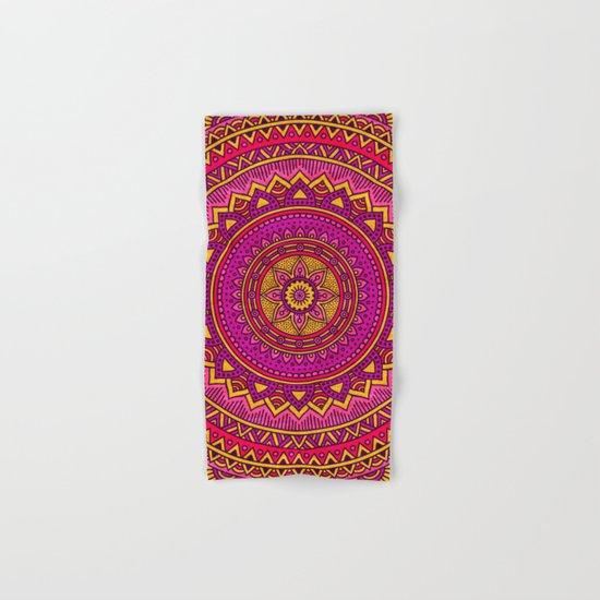 Hippie mandala 25 Hand & Bath Towel