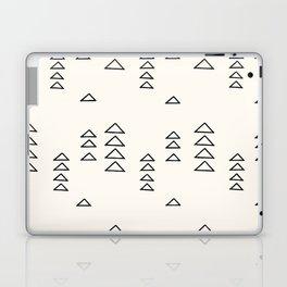 Minimalist Triangle Line Drawing Laptop & iPad Skin