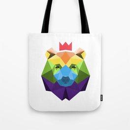 Hyruler Gay Bear Geometric Tote Bag