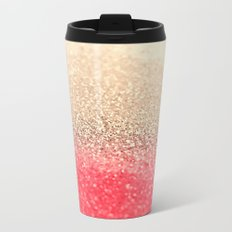 GOLD CORAL Metal Travel Mug